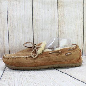 LL BEAN Mocs Wicked Good Slippers Size 11
